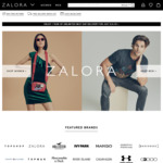18% off Sitewide at Zalora ($100 Minimum Spend)