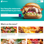 $5 off at Deliveroo (HSBC Cards)