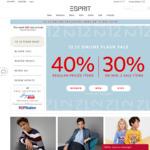 Esprit 12.12 Offer: 40% off Regular Priced Items + 20% off 2 Sale Items
