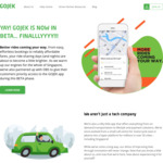 $5 off 2x Rides + $3 off Another Ride for New GOJEK Sign Ups