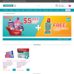 $5 off + Bonus Plax Freshmint 250ml When You Spend $28 on Colgate Products via Watsons