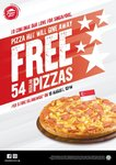 Free Regular Pan Pizzas at Pizza Hut