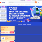 $10 off $100 on Electronics at Lazada (via App)