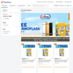 Free Thermoflask with $30 Min Spend on Participating Lifree Products at FairPrice