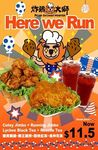 2x Jimbo Classics and 2x Beverages for $11.50 (U.P. $13.20) at Fried Chicken Master