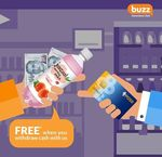 Free Bottle of Juscool with Every POSB Cash Point Withdrawal at Buzz Convenience Stores