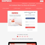 ShopBack - Bonus $8 with Sign Up + Another Bonus $5 after Updating Profile & Making 1st Purchase