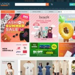 18% off (New Customers) or 10% off (Existing Customers) at Lazada