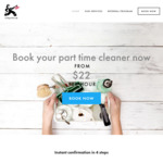 $19/Hr Nett for House Cleaning Services from 6days