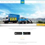 $5 off First GOGOVAN App Booking