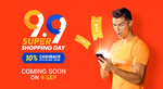 $5 off ($45 Min Spend), $15 off ($120 Min Spend) or $99 off ($1000 Min Spend) Sitewide at Shopee