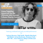 40th Annual John Lennon Tribute - Free Stream from November 25th at 7pm to November 29th @ Lennon Tribute