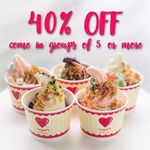 Sogurt Yogurt - 40% off When In Groups of 5 or More (Friday 27th January, 11am to 3pm)