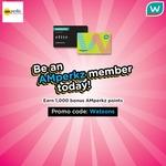 1,000 Bonus AMperkz Points for New Members