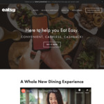 $1 off ($3 Min Spend) Sweets and Snacks via Eatsy App