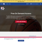 4 Months Free NBA League Pass (Premium) with code - NBA.com (No Credit Card required)