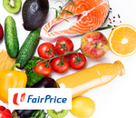 $12 off ($79 Min Spend) FairPrice On New Customer Voucher for $1 via Fave