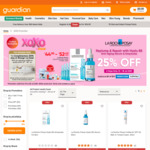 25% off La Roche Posay Replump & Repair with Hylau B5 ($44.95-$52.43) + Extra $9 off ($80 Min Spend) at Guardian