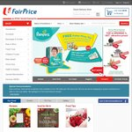 Free Delivery When You Spend over $60 at NTUC FairPrice