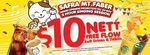 $10 for a 2 Hour Karaoke Session (with Free Flow Soft Drinks & Tidbits) at Karaoke Manekineko (SAFRA Mt. Faber)