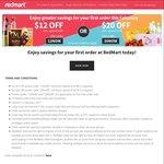 $12 off ($100 Minimum Spend) or $20 off ($150 Minimum Spend) for New Customers at RedMart