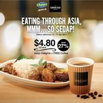 Ready to Eat Asian Meal + Coffee for $4.80 (U.P. $6.60) at Cheers, FairPrice Xpress and Selected Esso Service Stations