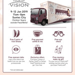 Free Coffee/Tea, Gift,  5 Pairs of Trial Contact Lenses, Eye Check @ Suntec City