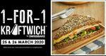 1-for-1 @Kraftwich by Swissbake