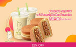 2x Classic Soy Milk Drinks & 2x Peanut Butter Cakes for $5 (U.P. $6.40) at Mr Bean via Fave