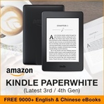 Amazon Kindle Paperwhite for $159 from Value Best Asia @ Qoo10