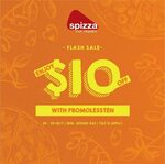$10 off ($40 Min Spend) at Spizza