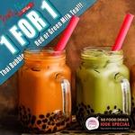 Pratunam by Soi Thai Soi Nice: 1-for-1 Bubble Thai Milk Tea (Monday to Thursday, Telegram Required)