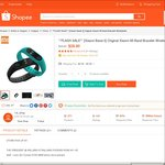 $29.90 for Xiaomi Band 2 (Free Pickup or $2.90 Delivery) from 1st_shop at Shopee