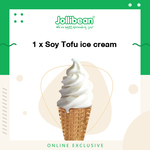 Soy Tofu Ice Cream for $1.40 (U.P. $1.80) at Jollibean via Lazada