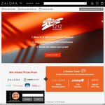 Win a $1,000 ZALORA Voucher, $50 Jetstar Voucher or a $40 KFit Pass from ZALORA
