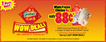 Whole Frozen Chicken for 88c with Minimum $88 Spend at Giant