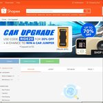 20% off Selected Car Items/Accessories at Shopee