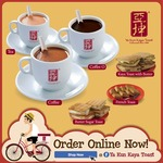 Free Butter Crackers (Worth $2) with Online Purchase/Order at Ya Kun Kaya Toast