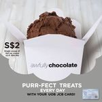 Single Scoop of Hei Ice Cream $2 @ Awfully Chocolate (U.P. $4.90) with UOB JCB Card (2000/Month Redemption Limit)