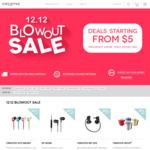 Creative 12.12 Sale - Items from $5: MA350 Headphones $5, EP-600M Headphones $7, D80 Bluetooth Speaker $13 + More