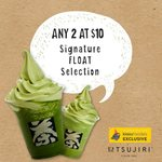 2x Signature Floats for $10 at TSUJIRI (Clarke Quay Central & Centrepoint) [Instagram Required]