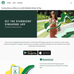 Free Special Edition Reusable Cup with Mobile Order & Pay Drink Order at Starbucks
