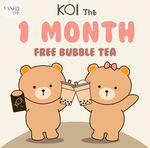 Win a $100 KOI Thé Bubble Tea from Vanity Suite