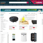 5% off Orders from AhGoGo at Lazada (Uncapped)