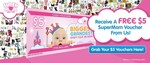 Free $5 Voucher ($50 Min Spend) for The Supermom Fair at Marina Bay Sands on Feb 17-19 (First 100)