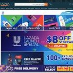 $8 off at Unilever via Lazada ($50 Minimum Spend)
