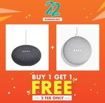 2x Google Home Mini for $98 Delivered from PlayTrends via Shopee
