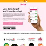 $15 off FavePay Payments via Fave (previously Groupon) [$60 Minimum Spend]
