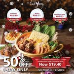 50% off Snowball Combo Hotpot $19.40) at Seoul Yummy
