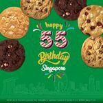 6 Cookies for $5.50 at Subway